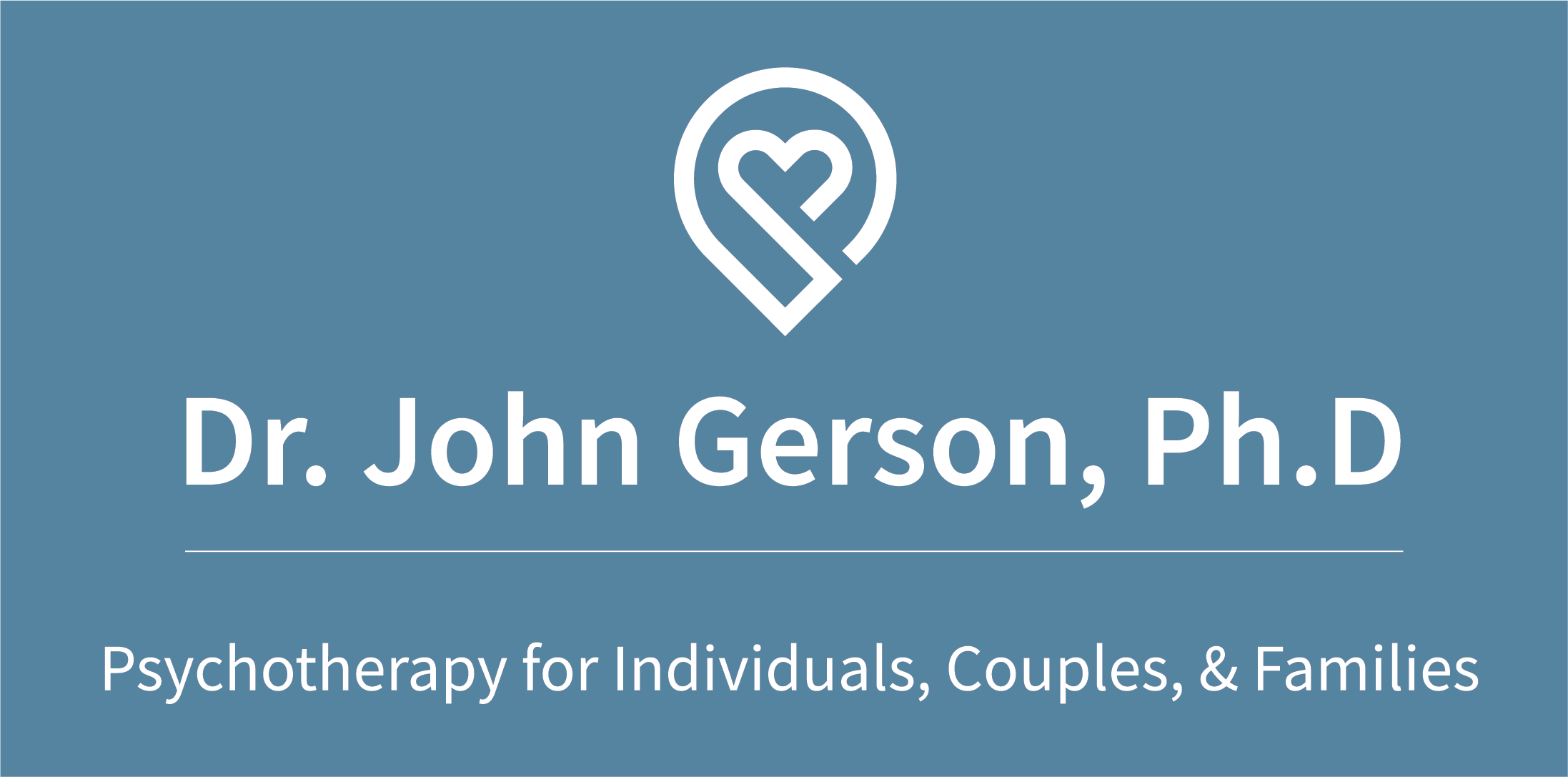 Dr. John Gerson, New York State Licensed Psychologist